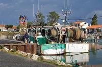 France, Charente Maritime, Ile d´Oleron, Boyardville harbour