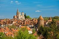 France, Cote d´Or, Semur en Auxois