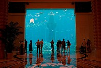 Atlantis Hotel lobby, Dubai