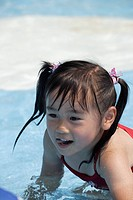 A girl in a pool (thumbnail)