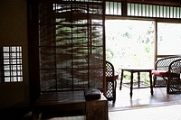 View of seating arrangement in a porch (thumbnail)