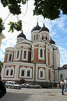 Alexander Nevsky Orthodox Cathedral in Tallin