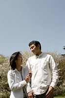 A young couple smiling (thumbnail)