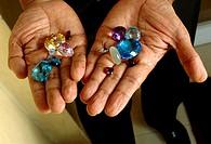 Precious stones shop, Colombo, Sri Lanka