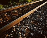 Railway tracks.