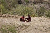 Africa_Tanzania,people, native, tribe, Masai, boys,Olduvai,