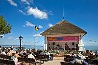 Concert, Promenade, Wyk, Foehr Island, North Frisian Islands, Schleswig_Holstein, Germany