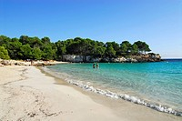 Beach at Cala en Turqueta, Minorca, Balearic Islands, Spain