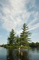 Kayak 2, Pine, Island, Kahshe Lake, Ontario