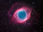 The Helix Nebula, NGC7293, the nearest planetary nebula to our sun.
