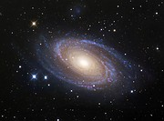 M81 Spiral Galaxy in Ursa Major