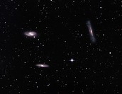 Galactic Group or Trio in Leo, consisting of NGC 3628, M65, and M66