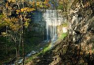 Tews Falls, Spencer Gorge, Niagara Escarpment, Hamilton, Ontario, Canada