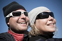 Couple in sunglasses