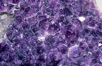 Fluorite crystals CaF2.