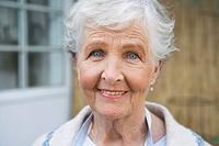 An elderly Scandinavian woman Sweden.
