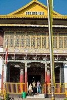 India, Sikkim, Pelling, Pemayangtse Gompa, One of Sikkim's oldest and most significant Nyingmapa gompas