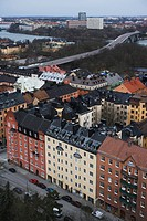 View of Sodermalm Sweden.