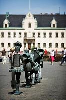 A statue in Malmo Sweden.
