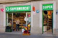 Supermarket Barcelona Spain EU