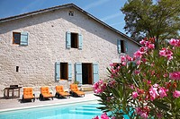 French farmhouse and pool