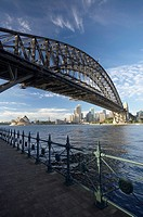 Sydney Harbour Bridge, Sydney Opera House and CBD