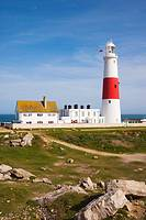 Portland Bill Lighthouse. Isle of Portland. Dorset. England. UK.