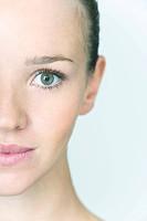 WOMAN FACE Model.