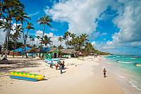 Bavaro beach. Punta Cana. Dominican Republic. West Indies. Caribbean.