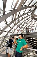 Reichstag Dome by Norman Foster, Berlin. Germany