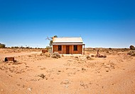 old house in the desert