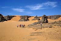 Algeria, surrounding of Tamanrasset