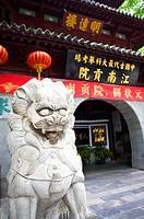 Asia, China, Jiangsu Province, Nan Jing, Qinhuai River, Confucius Temple, Jiangnan Examination Office