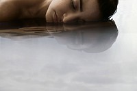 Young woman in water (thumbnail)