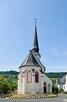Village church of Detzem, Germany
