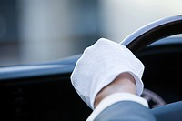 A chauffeurs glove