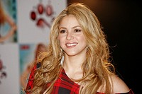 Colombian singer Shakira presents to the Spanish press his last album 'She Wolf', Madrid, Spain (September, 2009)