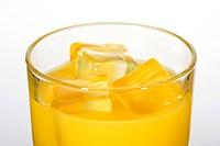 Orange juice detail