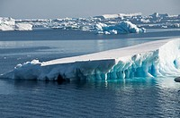 Ice in the Antarctic Sound, Antarctic Peninsula, Antarctica, Polar Regions