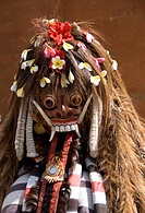 Barong dancer, Batubulan village, Bali, Indonesia, Southeast Asia, Asia
