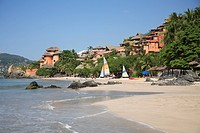 Playa La Ropa, Zihuatanejo, Guerrero state, Mexico, North America