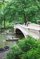 Bow Bridge, Central Park, Manhattan, New York City, New York, United States of America, North America