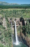 Aerial view of Mac_Mac Falls, Mpumalanga Province, South Africa