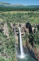 Aerial view of Mac_Mac Falls, Mpumalanga Province, South Africa