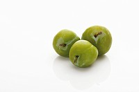 Three greengages