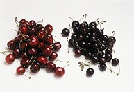 Sweet cherries and sour cherries