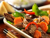 Beef and Vegetable Stir Fry, Fortune Cookie