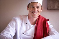 Portrait of male chef (thumbnail)