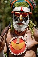 Sing-sing tribal gathering, Paiakona, Mount Hagen, Western Highlands Province, Papua New Guinea
