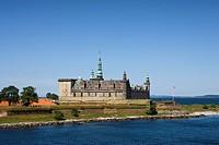 Denmark, Helsingor, Kronborg, castle, sea, traveling, tourism, holidays, vacation